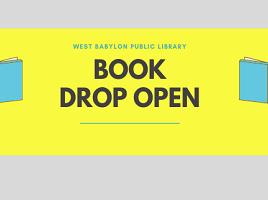 book drop open