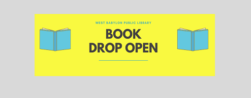 book drop open
